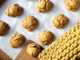 Easiest Pumpkin Cookies and Low Calorie!