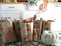Trader Joe's Fall Favorites Shopping List