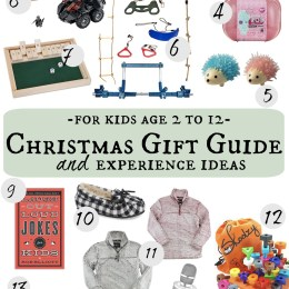 Christmas Gift Guide for Kids and Experience Ideas