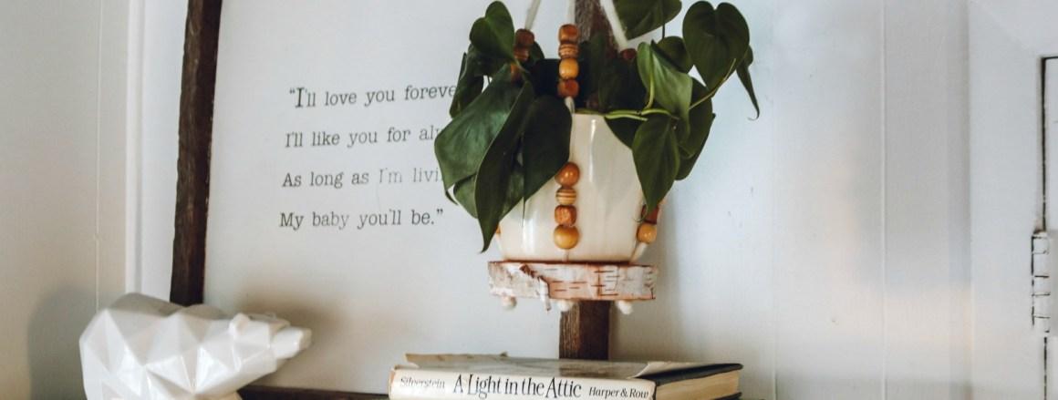 DIY Gift Idea- Macrame Hanging Plant Holder