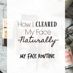How I healed my skin naturally