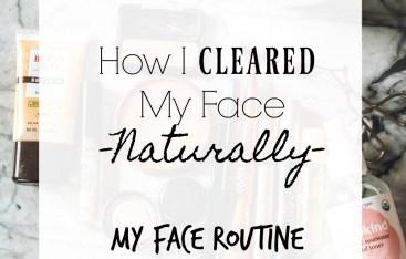 How I healed my skin naturally