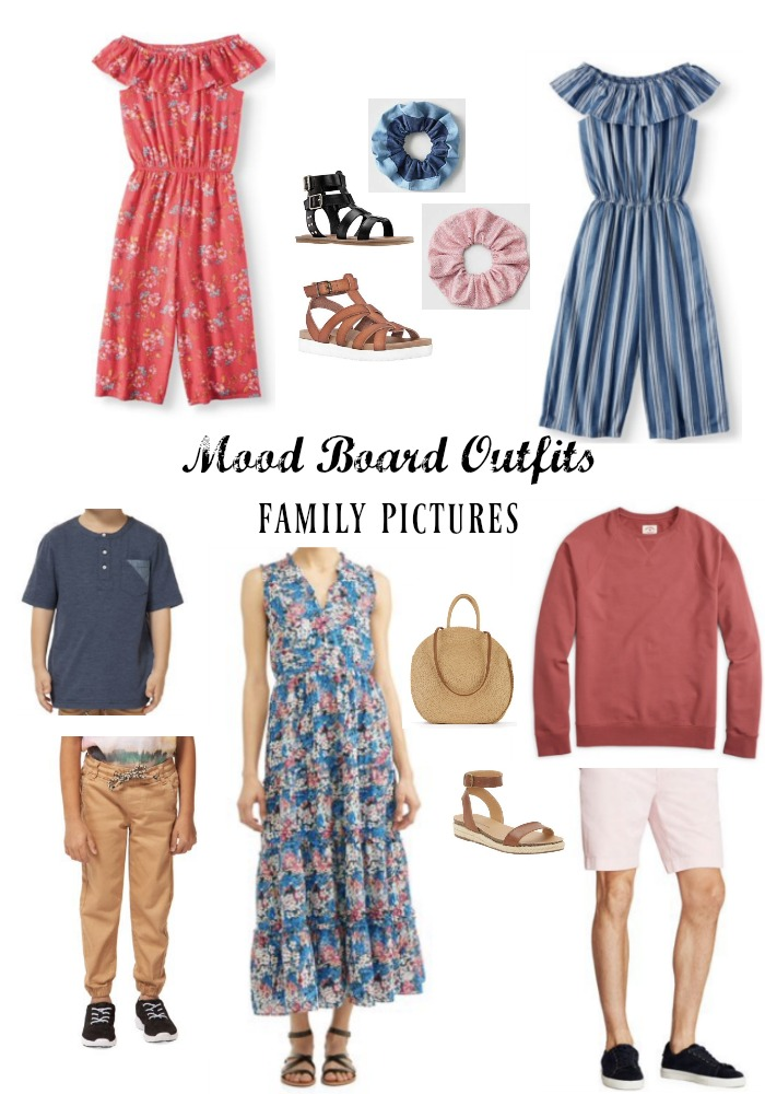 Spring Outfits for Family Pictures