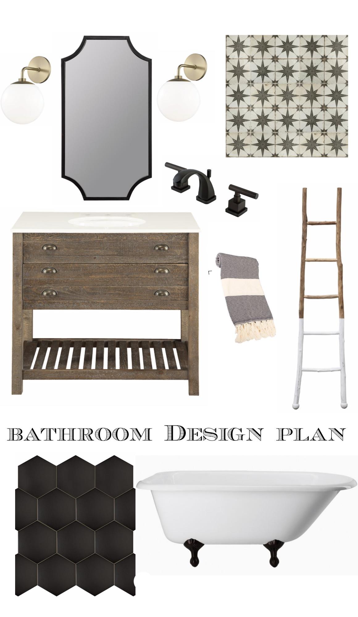 Bathroom Inspiration and Wayfair's 48 Hour SALE!!!! - Nesting With Grace