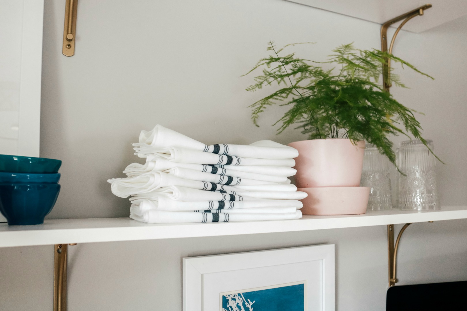 Kitchen Shelf Styling Diy Open Shelves With Affordable