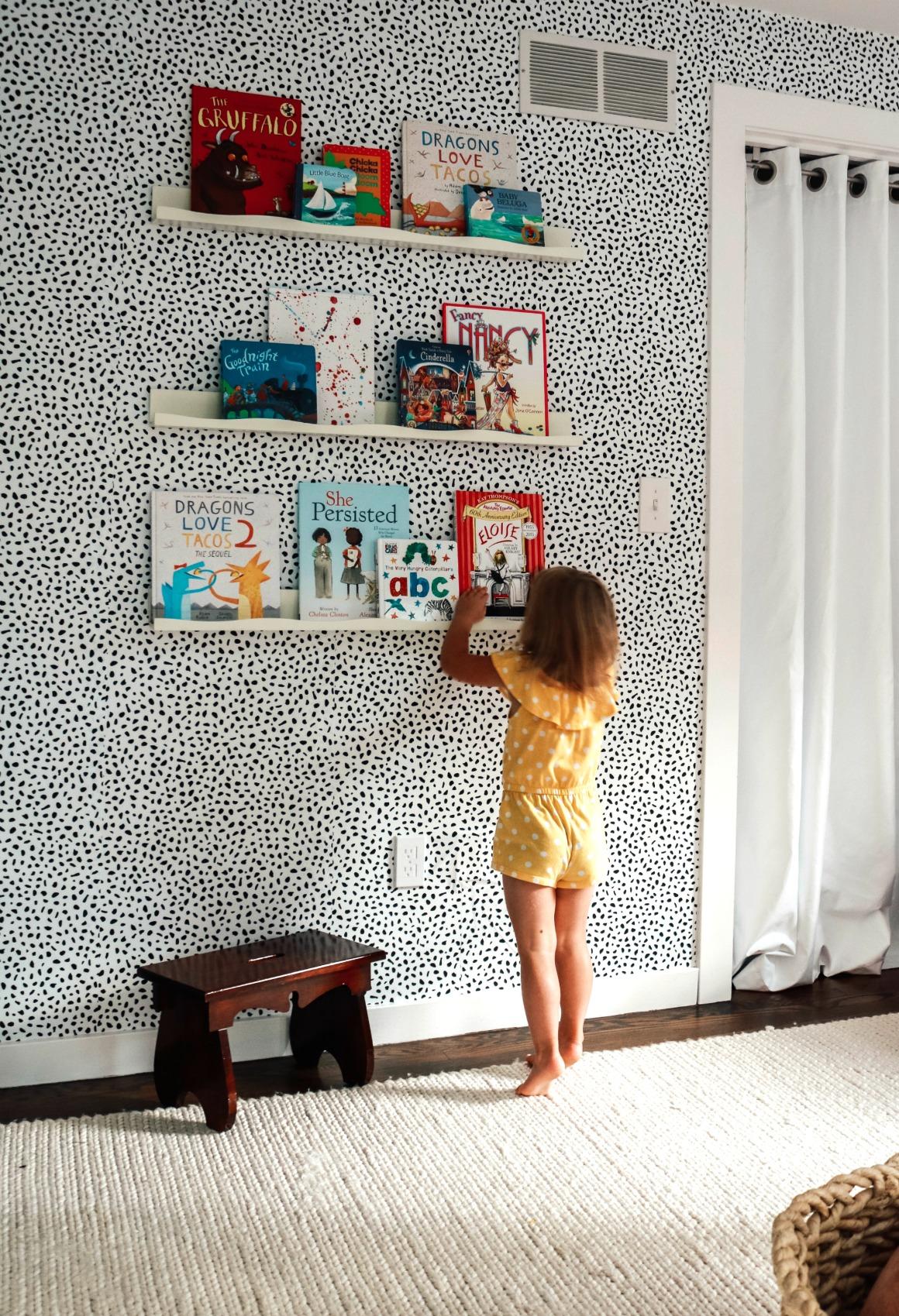 Girls Toddler Bedroom Makeover- Drew Barrymore Collection ...