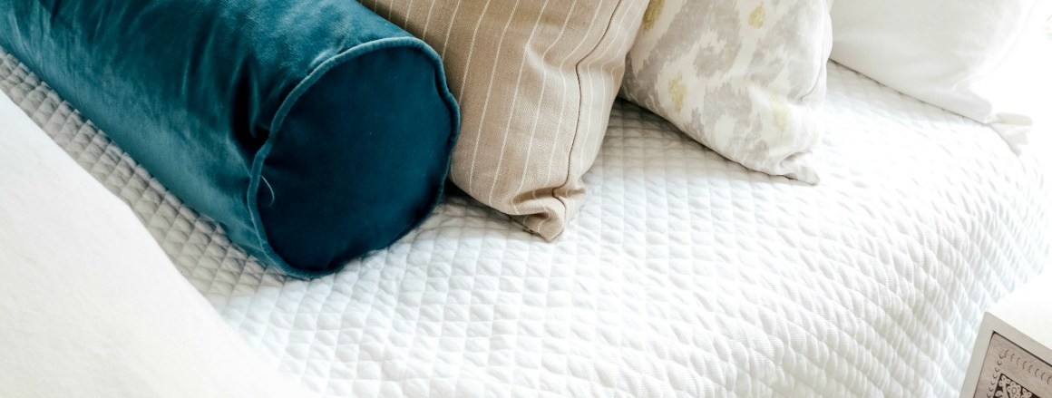 Easy Bedding Idea and Curtain Panel Tips- Bedroom Makeover