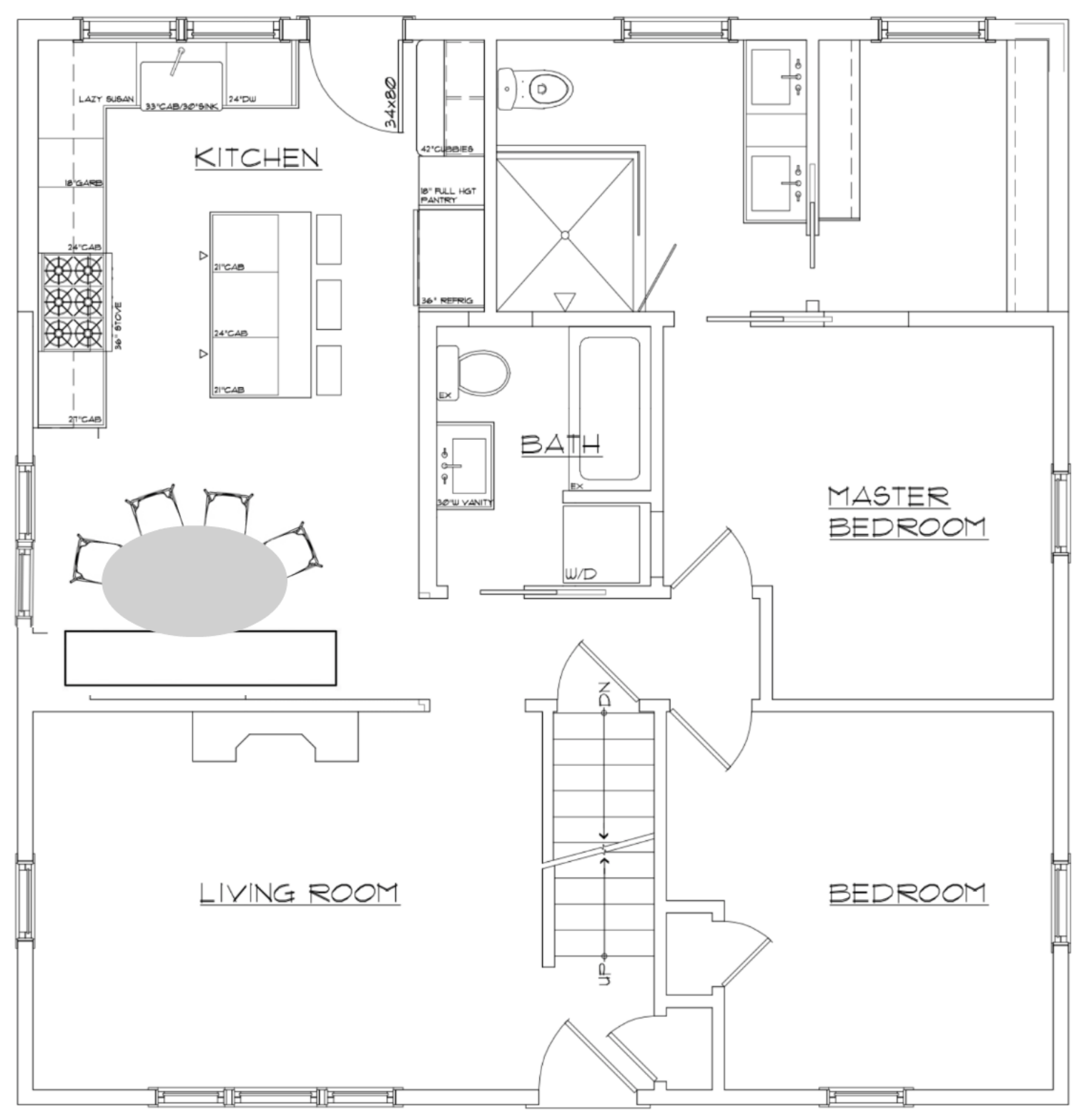 Cape Remodel- Elevation Plans