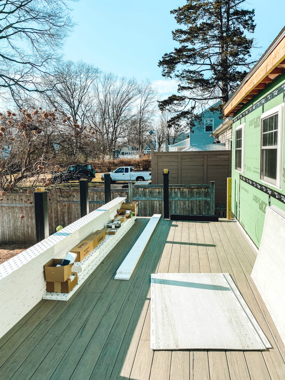 Outdoor Furniture Sources And Deck Progress Nesting With Grace