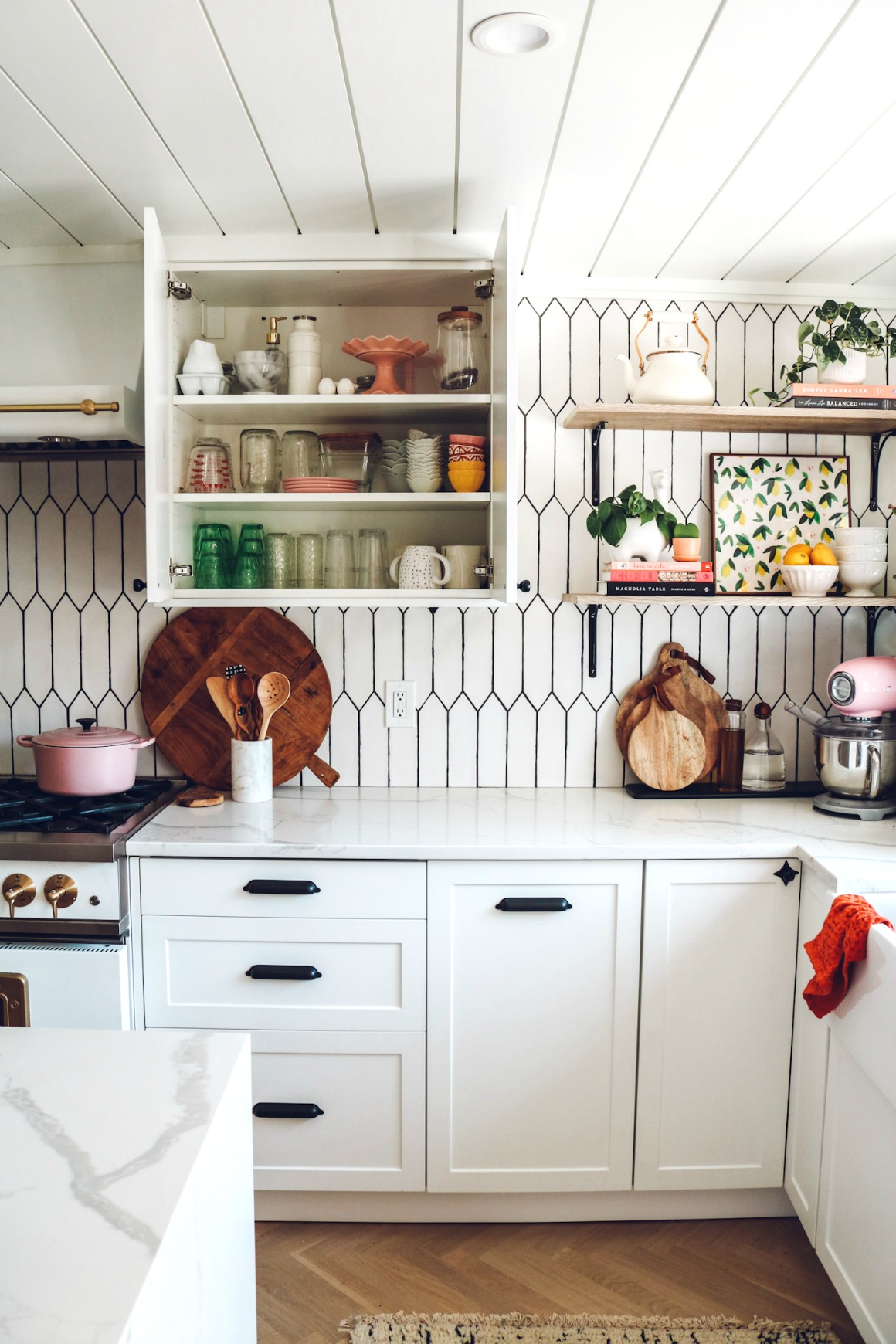 Inside our Kitchen Cabinets  Organizing Ideas   Nesting ...