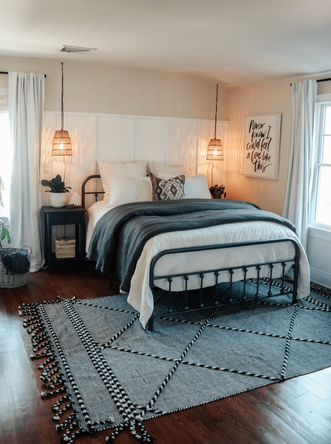 Simple And Affordable Master Bedroom Makeover Nesting With Grace
