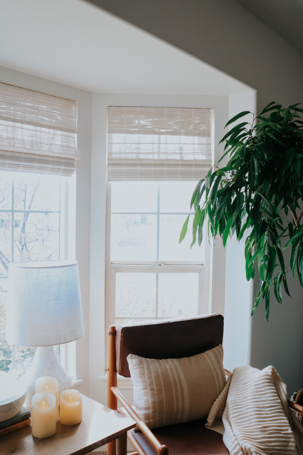 Living Room Affordable Refresh and Floor Lamps