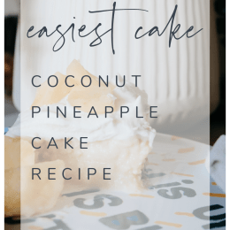 Easy Coconut Pineapple Cake Recipe Easer Cake Pineapple Cake Coconut Cake Easy Cake
