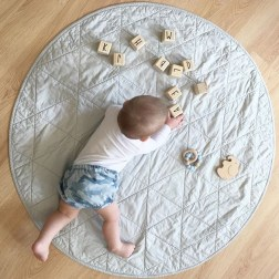 oh.deer.doe | Handmade baby playmats and bespoke quilts for little people | www.nestlincollective.com