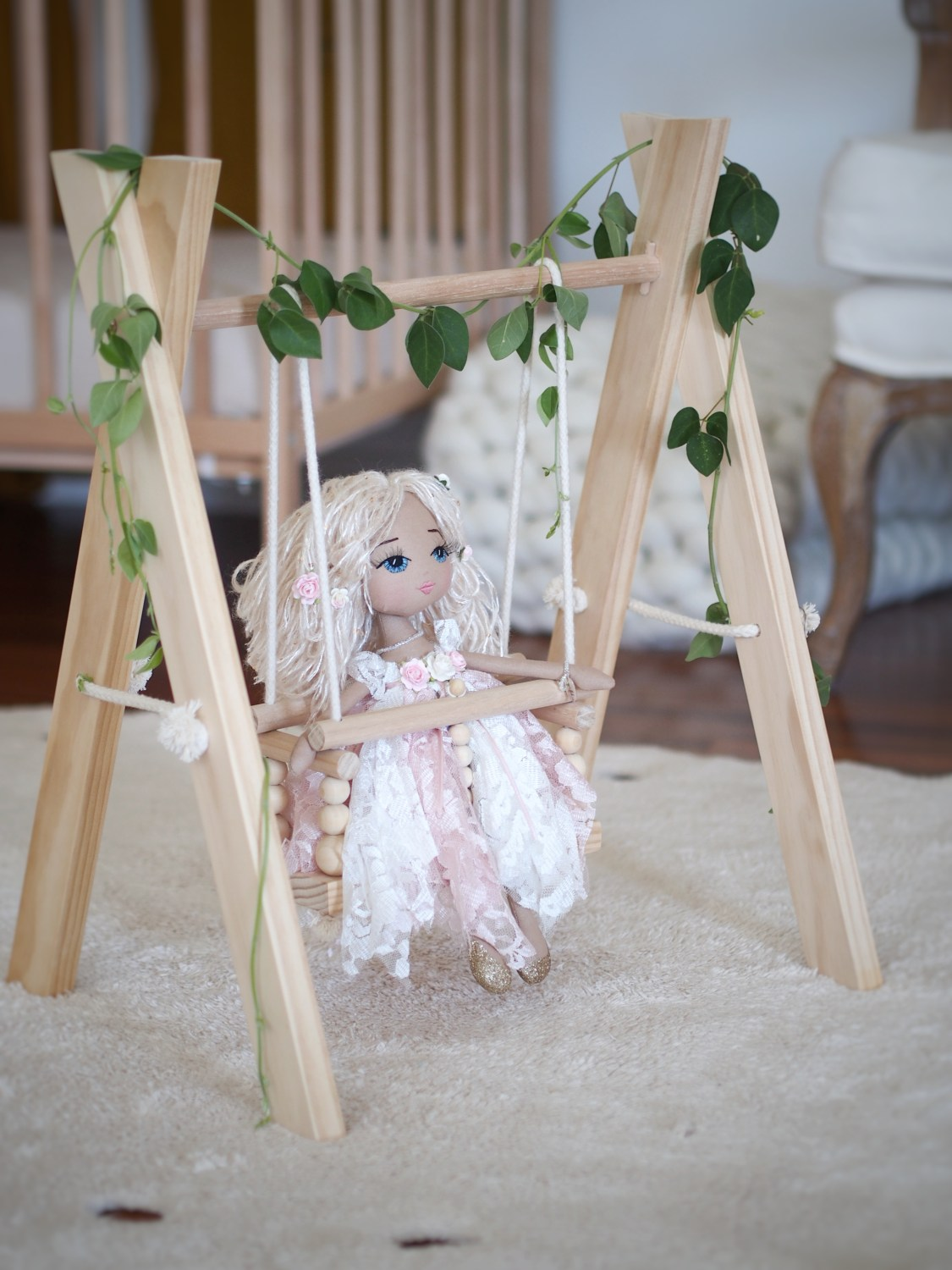 Millie's Nursery: Made for Imaginative Play | Real Nurseries styled by REAL mamas | www.nestlingcollective.com