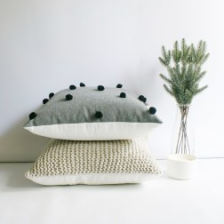 and ink co. | handknitted cushion covers | www.nestlingcollective.com