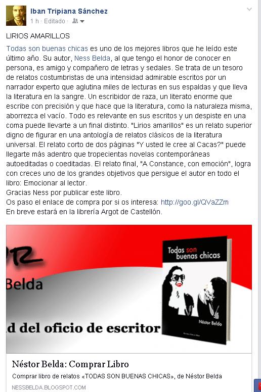 Todas con buenas chicas │ Lector Ibán Tripiana Sánchez