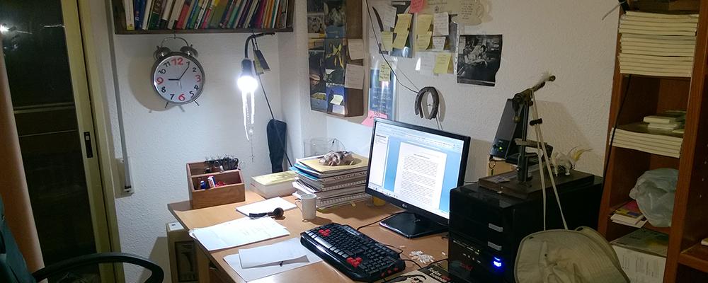 Néstor Belda │ Escritura Creativa: Herramientas de escritor