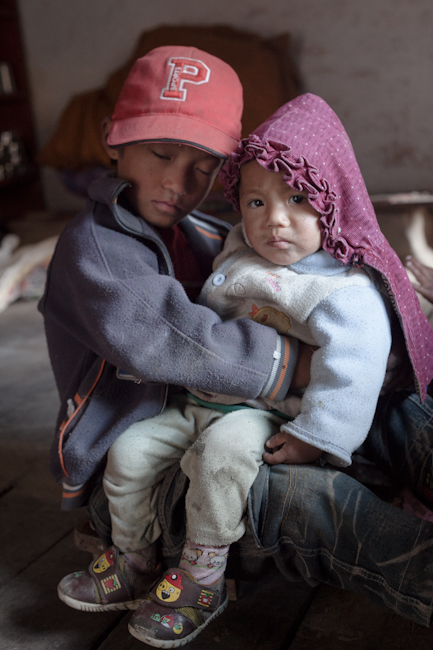 Brother and sister, Nepal