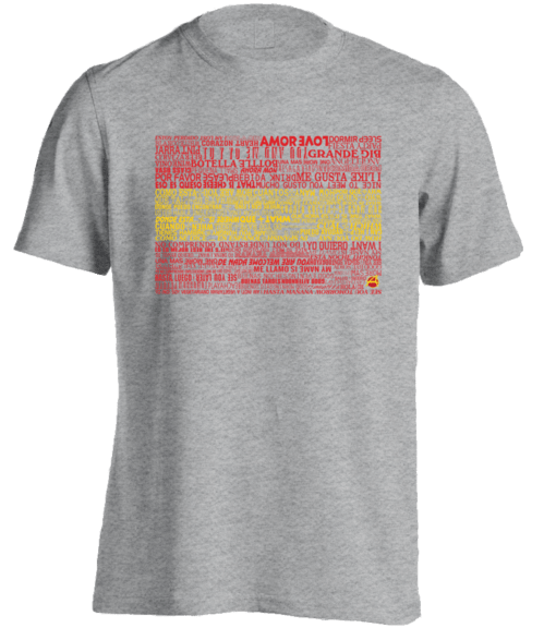 spanish language t-shirt