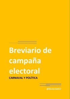 thumbnail of Carnaval y Política