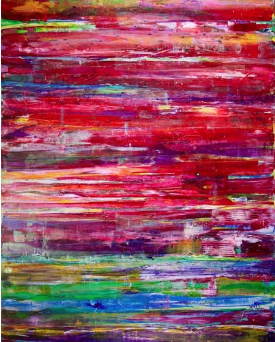 Nestor Toro - Sold work - abstract painting