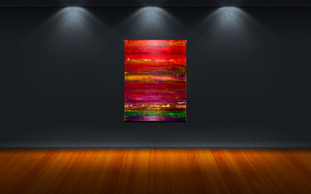 Abstract Spectra II by artist Nestor Toro - SOLD