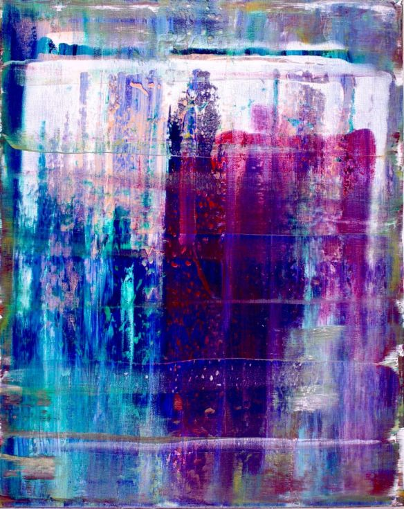 Abstract Terrain (Translucent) artist Nestor Toro - SOLD
