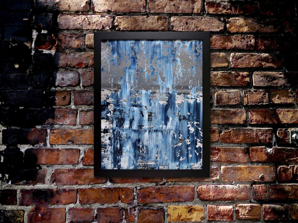 Subarctic dream, 2016 Acrylic painting by Nestor Toro