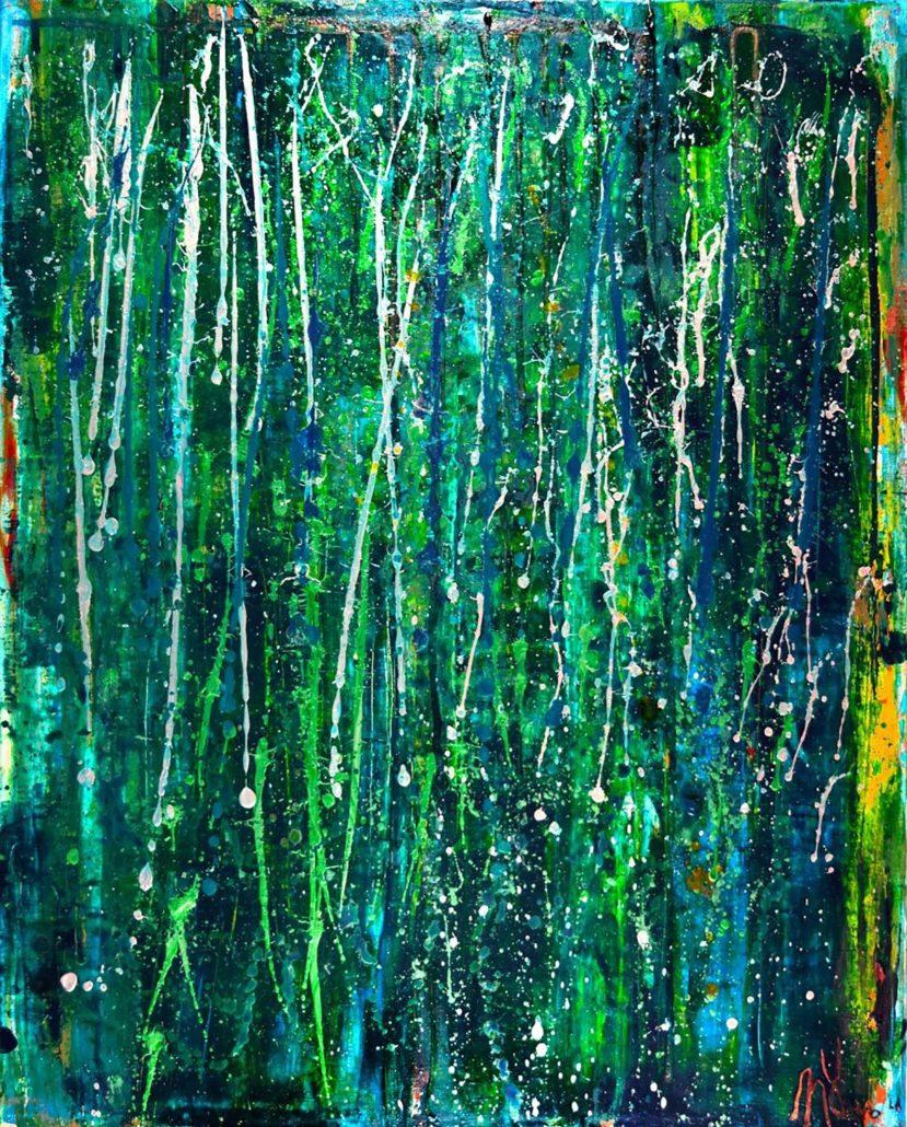 spring-drizzle sold artwork by artist Nestor Toro