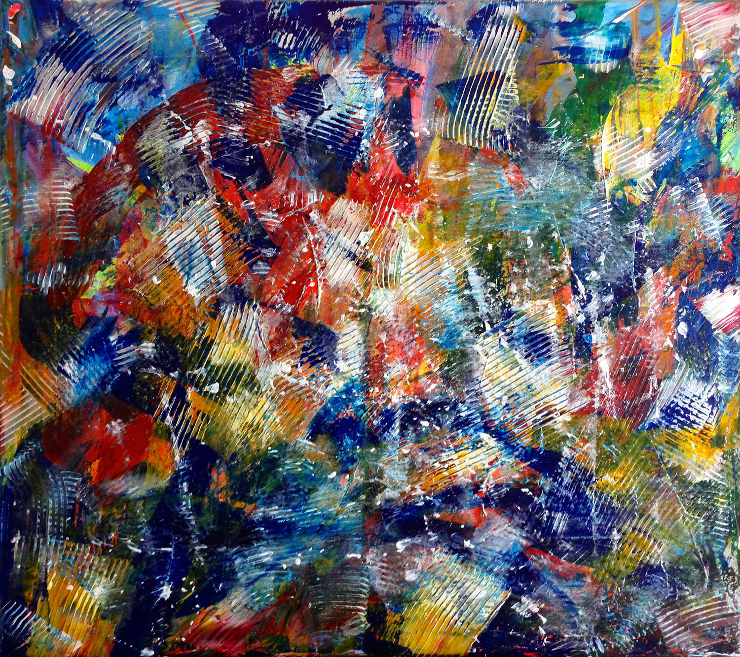 sold-art-by-Los Angeles abstract painter Nestor Toro