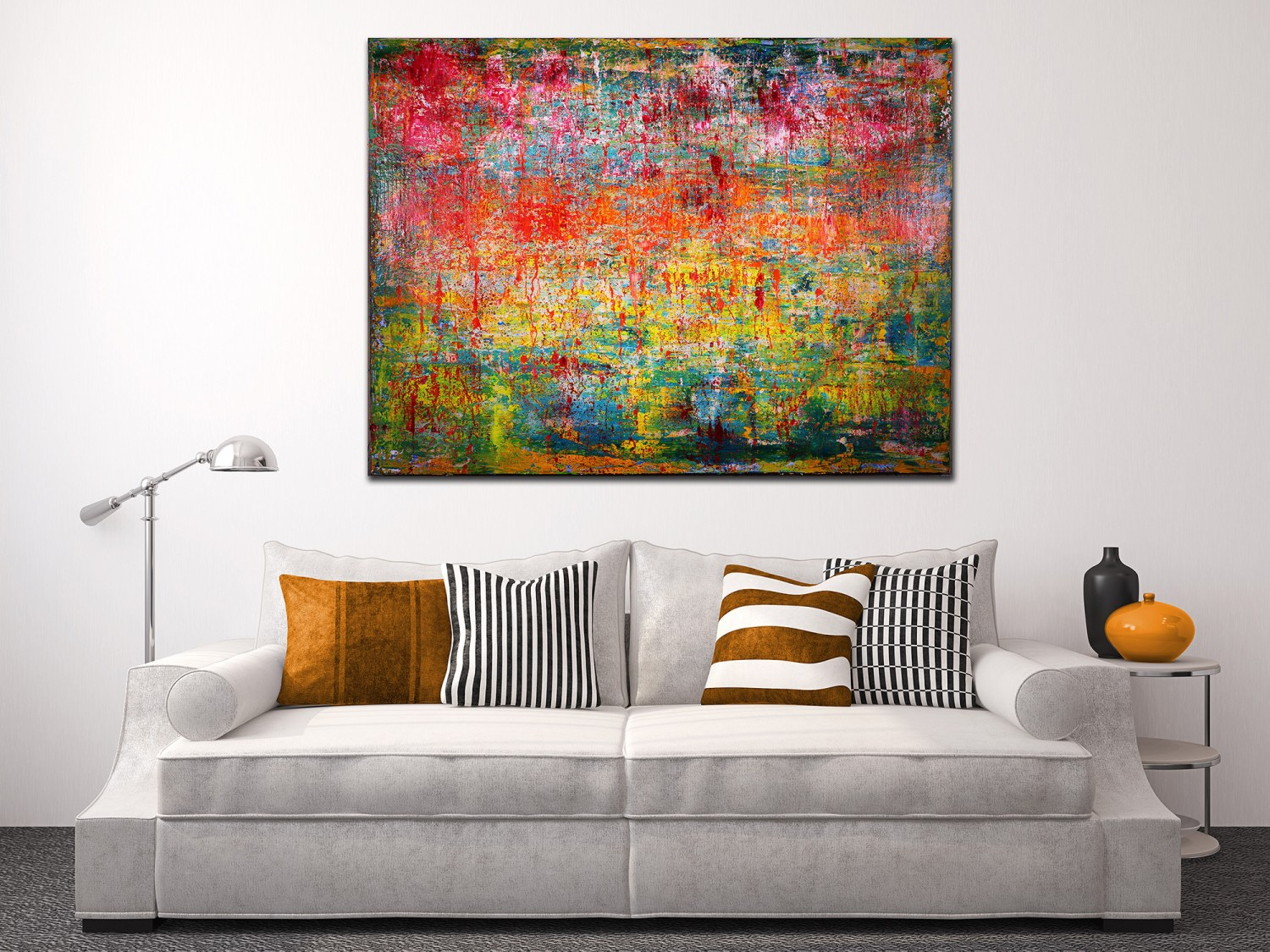 SOLD artwork by abstract painter Nestor Toro