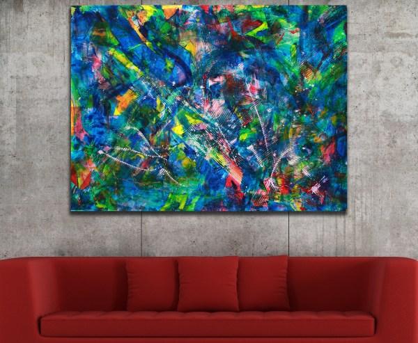 Forest Rainbow (2014) / Rare Early Work / Artist: Nestor Toro