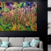 Room View - Golden Spectra (Forest chaos) by Nestor Toro