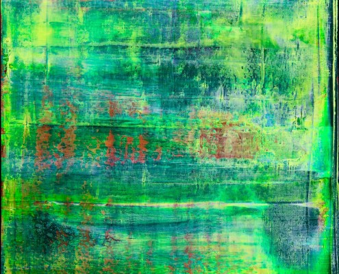 Translucent Abstract Forrest by Nestor Toro
