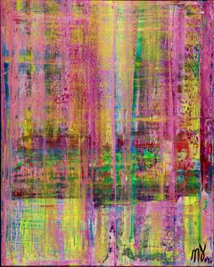 SOLD - Translucent Migrations by artist Nestor Toro