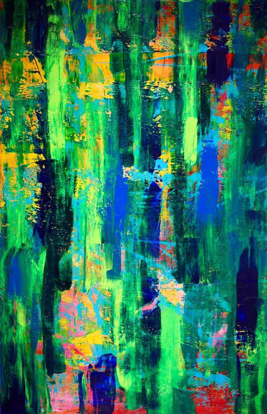 Cathartic 2 artist Nestor Toro