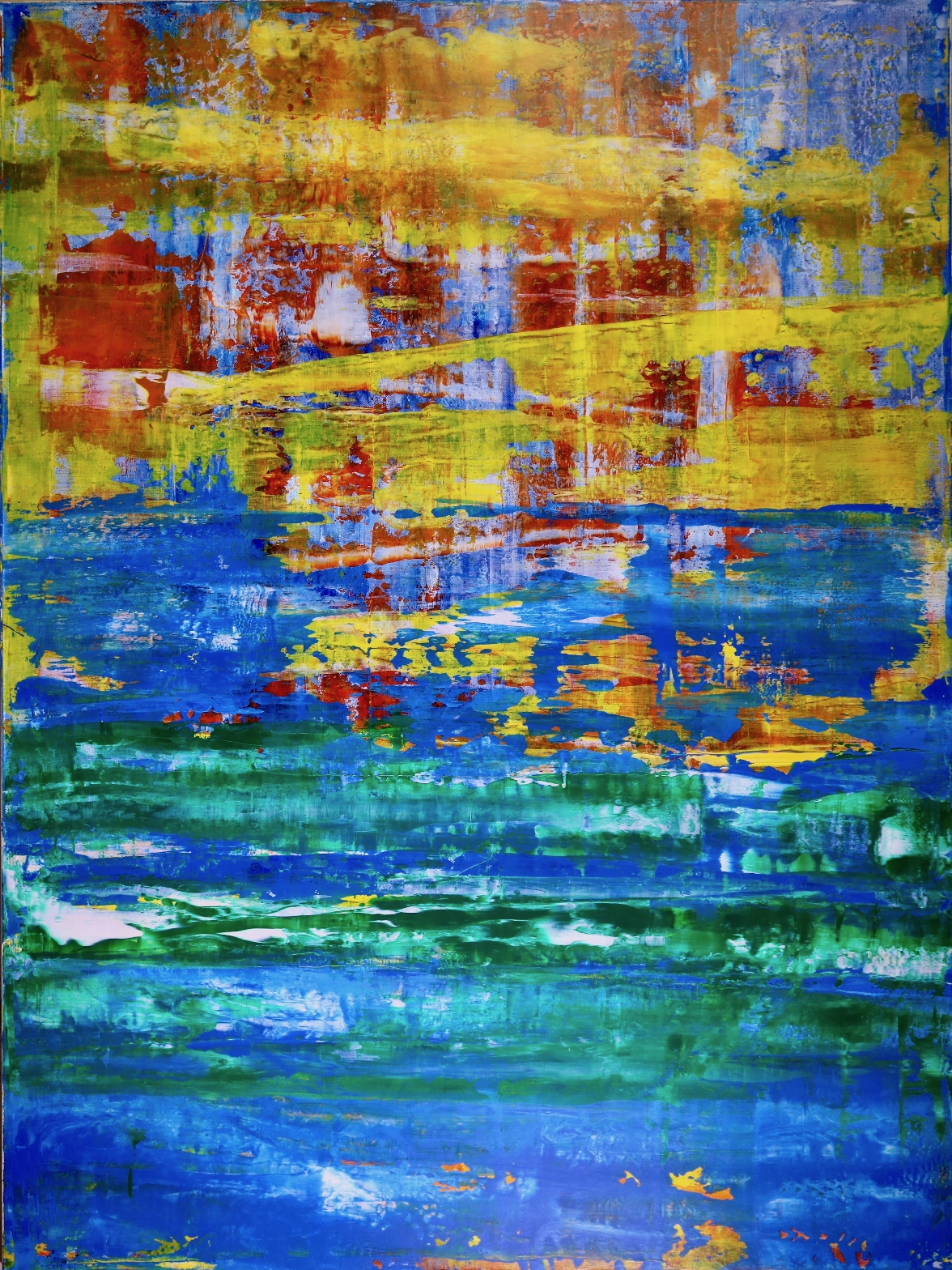 SOLD - Dimensional Terrain - Visible Contrast by artist Nestor Toro