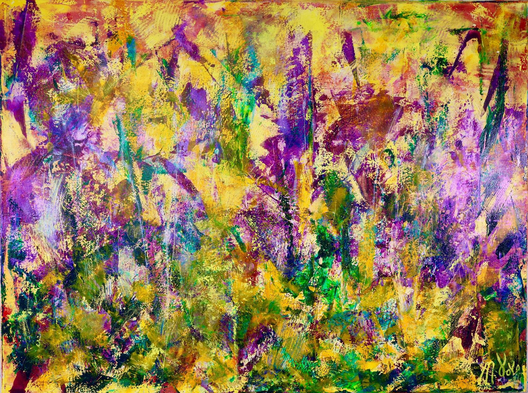 Lust (Purple Haze) by Nestor Toro in L.A.