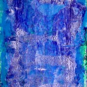 SOLD - Abstract Sketch 2 by Los Angeles artist Nestor Toro