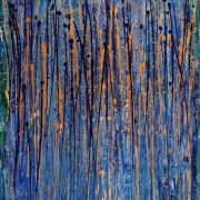 Drizzles 2 by Nestor Toro in Los Angeles California - SOLD - abstract art