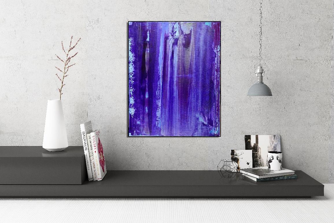 Purple Rain 1 by Nestor Toro in Los Angeles - abstract artist