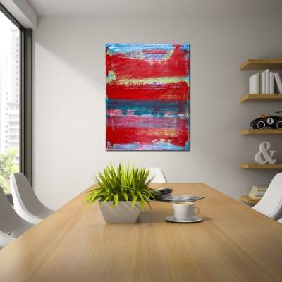 Fragmented Panorama - Window by LA abstract artist Nestor Toro