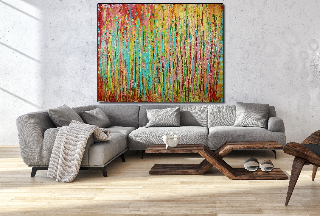 Rising Frequencies by Nestor Toro – SOLD