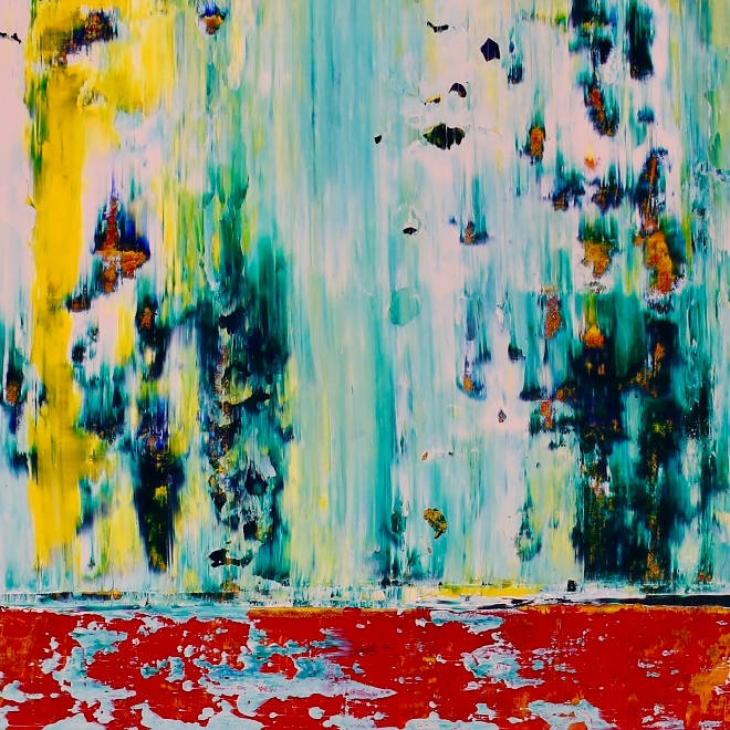 Coastline Drive (2018) Acrylic painting by Nestor Toro