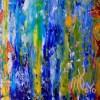 Signature - Organic Color Fusion 2 (2018) Acrylic painting by Nestor Toro