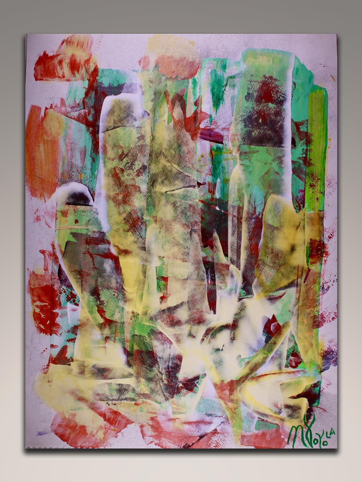 Strange times ahead (2018) - Art on paper - Nestor Toro