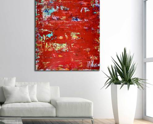 SOLD - Waiting For The Answers (room view) by Nestor Toro