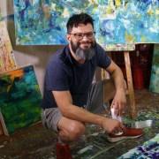 Los Angeles abstract painter - Nestor Toro
