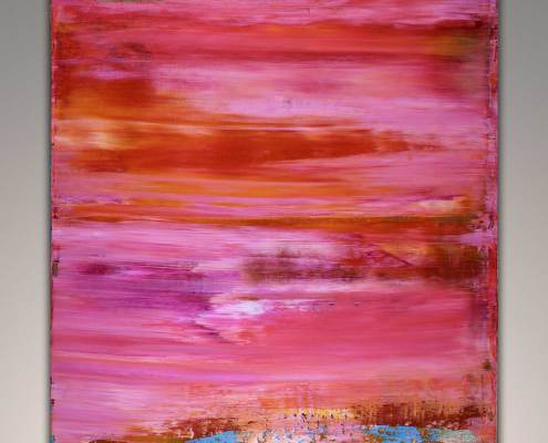 SOLD - Abstract Art by Los Angeles painter Nestor Toro 2018